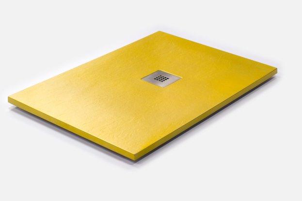 Plato de Ducha Personalizado Dorado - Amarillo